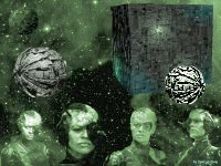 Borg Wallpaper,Star Trek,Startrek,Trek,Spot of Borg